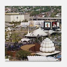 1964 World's Fair Tile Coaster