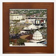 1964 World's Fair Framed Tile