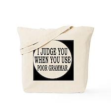 grammarbutton Tote Bag