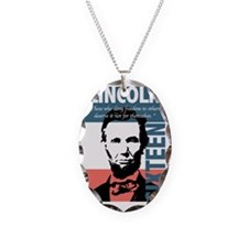 Abraham Lincoln 16th President Necklace