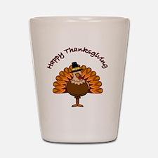 Thanksgiving Turkey Shot Glass