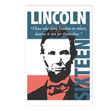 Abraham Lincoln 16th Pres Postcards (Package of 8)