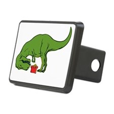 T-rex hates Christmas Hitch Cover