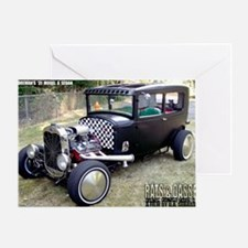 Ron Foremans 31 Model A Sedan Greeting Card