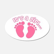Its a Girl Wall Decal