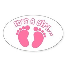 Its a Girl Decal