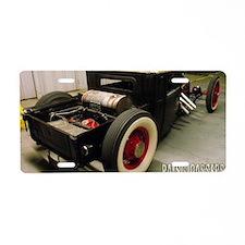 Trevor Robinsons 29 Ford No Aluminum License Plate
