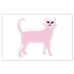 Pink Cat Posters