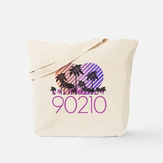 Retro 90210 Tote Bag