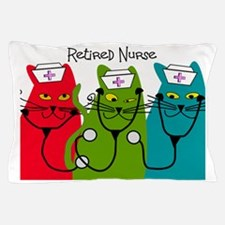 Retired Nurse Blanket CATS Pillow Case