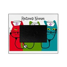 Retired Nurse Blanket CATS Picture Frame