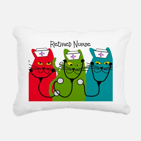 Retired Nurse Blanket CA Rectangular Canvas Pillow