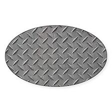 Diamond Plated Steel Decal