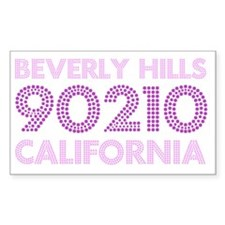 Beverly Hills 90210 California Decal