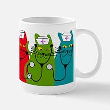 black cats NURSE BEST Mug