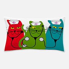 black cats NURSE BEST Pillow Case