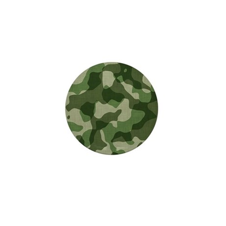 Camo Mini Button
