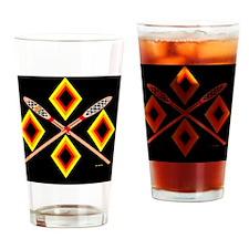 SOUTHEAST TRIBAL STICKBALL Drinking Glass
