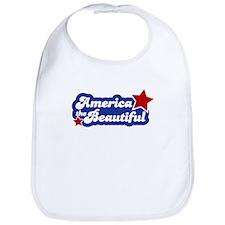 America Beautiful Bib