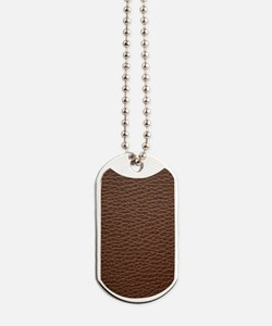 Leather Dog Tags