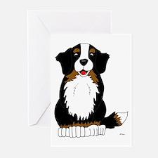Bernese Mountain Dog Greeting Cards (Pk of 10)