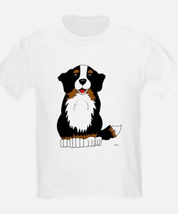 Bernese Mountain Dog Kids T-Shirt