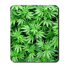Marijuana Mousepad