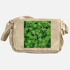 Marijuana Messenger Bag