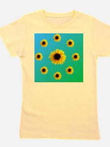 Sunflowers Girl's Tee