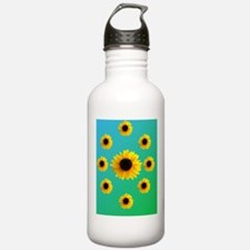 Sunflowers Sports Water Bottle