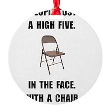 High Five Chair Ornament