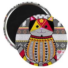 Classy Cat Magnet