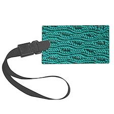 Yarn Pattern Luggage Tag