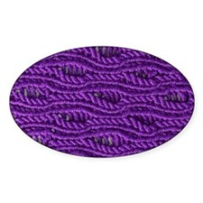 Purple Yarn Decal