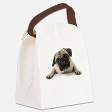 Pugs Not Drugs Canvas Lunch Bag