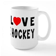 I Love Ice Hockey Mug