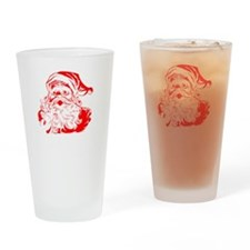 Santa Dont Exist Drinking Glass