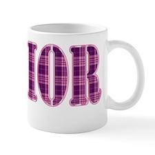 Pink and Purple Plaid Senior Mug