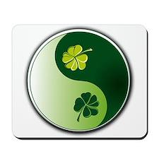 Ying Yang Irish! Mousepad