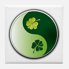 Ying Yang Irish! Tile Coaster