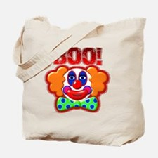 Clown Boo Halloween Costume Tote Bag
