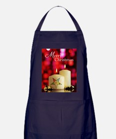 Eastern Star Christmas Card Apron (dark)