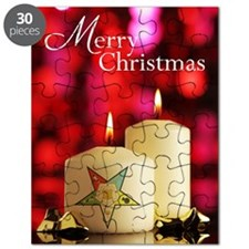 Eastern Star Christmas Card Puzzle