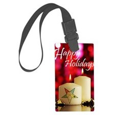 Eastern Star Holiday Card Luggage Tag