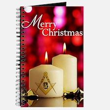 Masonic Christmas Card Journal