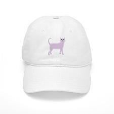 Violet Cat Baseball Cap