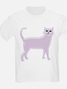 Violet Cat Kids T-Shirt