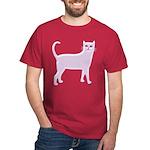 Violet Cat Dark T-Shirt