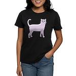 Violet Cat Women's Dark T-Shirt