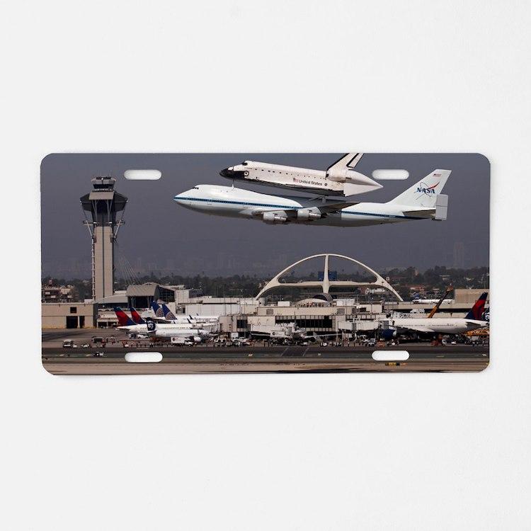 Endeavour Aluminum License Plate
